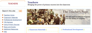 loc teacher page