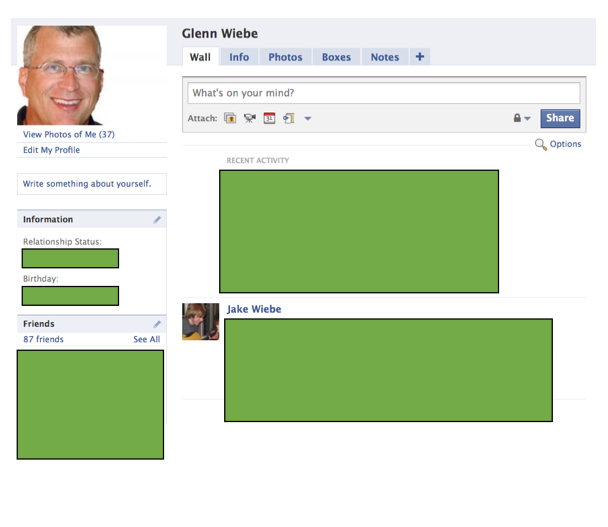 Tip Of The Week Creating A Blank Facebook Template
