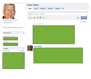 Tip of the Week - Creating a blank Facebook template