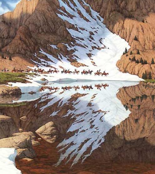 Bev Doolittle Pics And Native American Hook Activity
