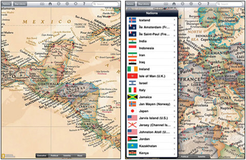 Tip of the week sweet geography ipod ipad apps history tech 8 national geographic world atlas gumiabroncs Images
