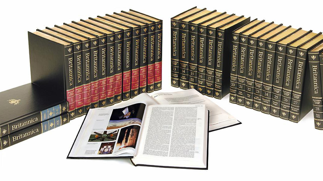 ENCYCLOPEDIA BRITANNICA, facsimile of the first edition 3 vols, mint