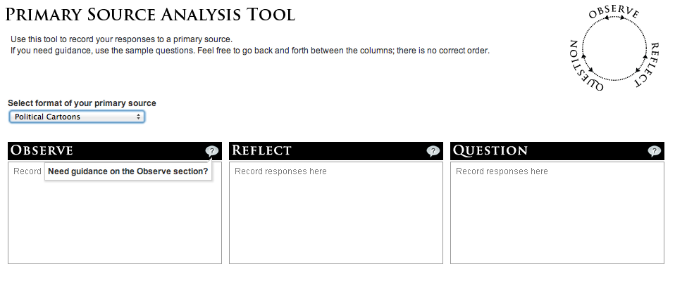 Tip of the Week – LOC Document Analysis Tool | History Tech