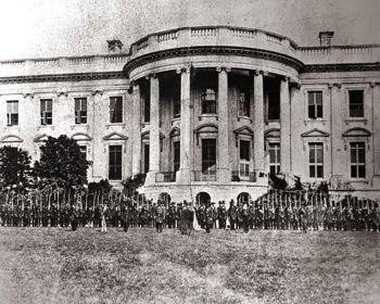 civil war white house