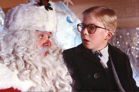 ralphie and santa