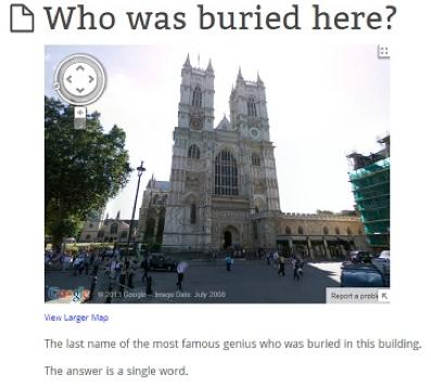 streetview quiz