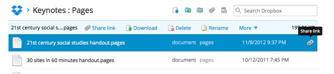 sharing file