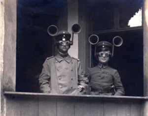 WWI listening devices. Yes. really.