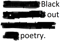 black-out-poetry logo