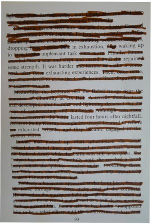 blackout poetry 1