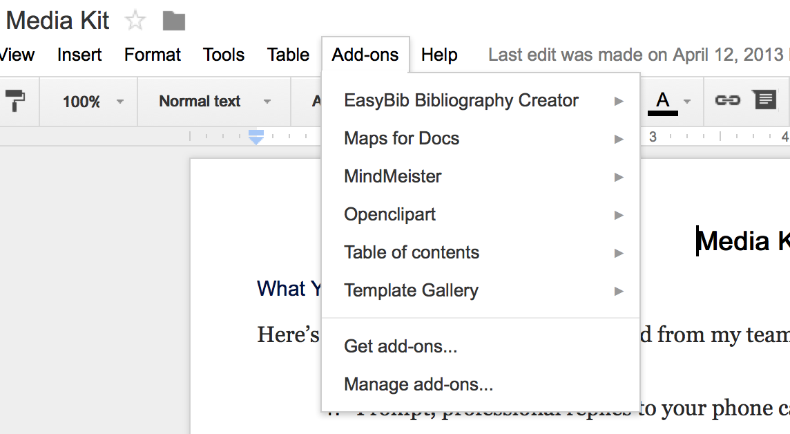 how to add anchors in google doc