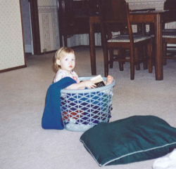erin reading basket