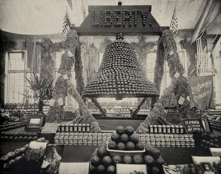 fruit as liberty bell