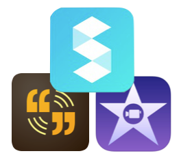 The perfect iPad creation trifecta: iMovie, Storehouse, and Voice