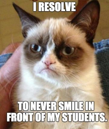 never smile meme