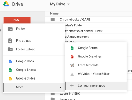 Hacking #iste2015: Driving creativity with Google Drive apps