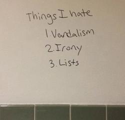 things i hate list