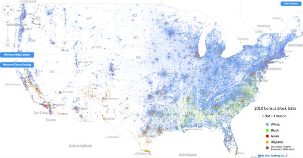 racial map