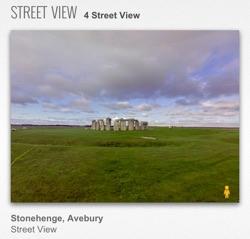 stonehenge streetview