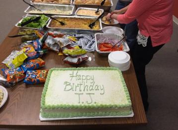 tj b-day cake