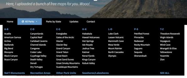 nps maps