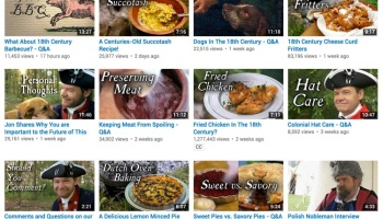 5 tasty youtube channels perfect for history geeks history tech tip of the week 18th century history cooking channel forumfinder Choice Image